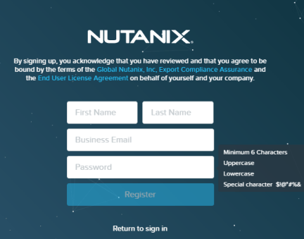 Configuring a HTTP Proxy in Nutanix