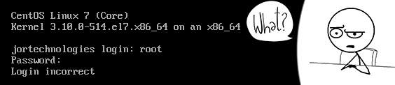 How to easily reset root's password on CentOS/RHEL 7