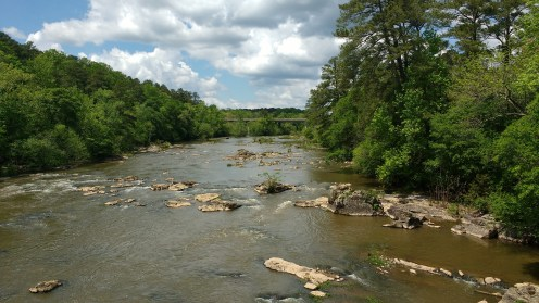 What I love most about rivers is you can't step in the same river twice...