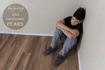 4 Steps to Help Kids and teenagers to Overcome Fear