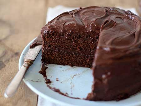 كعكة-الشوكولاته-حلويات-لمرضى-السكرى