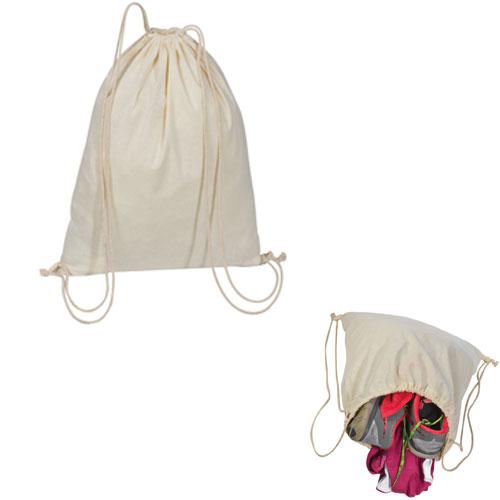 Gymbag - Turnbeutel aus Baumwolle wird innerhalb von 2 Werktagen bedruckt