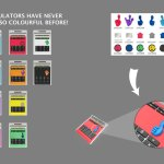 Werbegeschenk Taschenrechner
