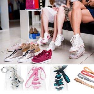 Werbeartikel Sonderproduktion Schnürsenkel - Schuhbänder