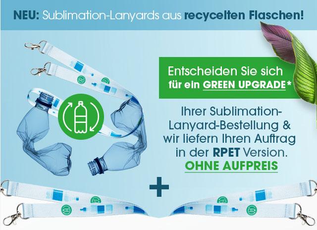 nachhaltige Werbeartikel Schlüsselbänder