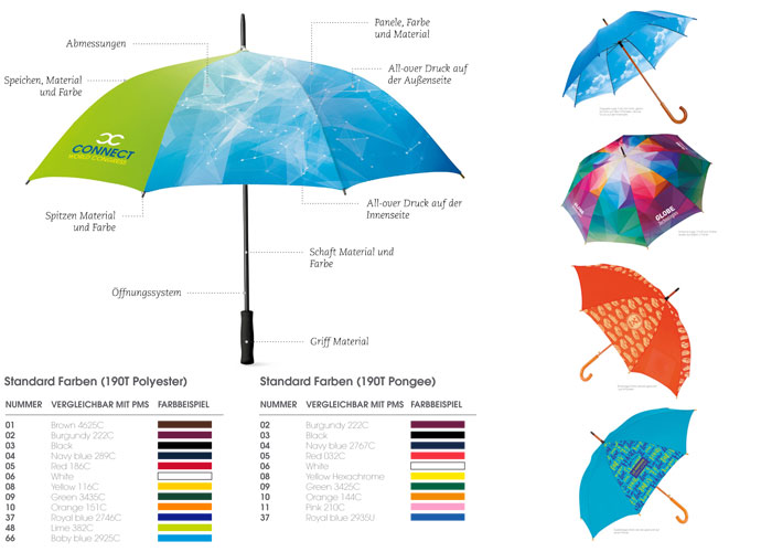 Choice your umbrella - individueller Regenschirm