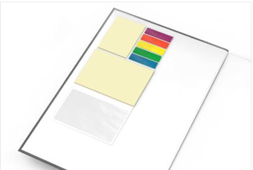 Hochwertige Notizbücher nach dem Baukastensystem Orga-Set
