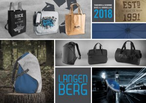 0262 JoSA Werbeartikel Taschenkatalog Langenberg