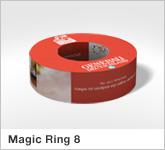 Haptische Werbehilfe Faltwerk Magic Ring 8