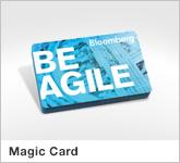 Haptische Werbehilfe Faltwerk Magic Card