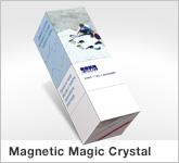 Haptische Werbehilfe Faltwerk Magnetic Magic Crystal
