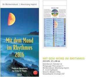 JoSA Werbeartikel Mondkalender