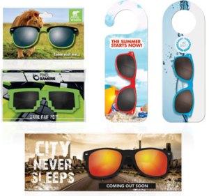 Werbeartikel Sonnenbrillen mit Verpackung