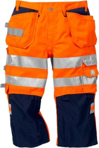 Warnschutzbekleidung 3/4 Funktionsbundhose