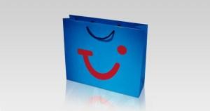 Werbeartikel Papiertragetasche
