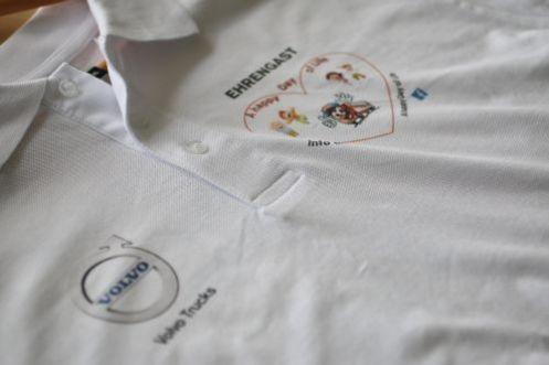 Digitaldruck auf Poloshirt