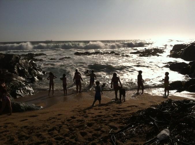 Pablo Neruda's beach
