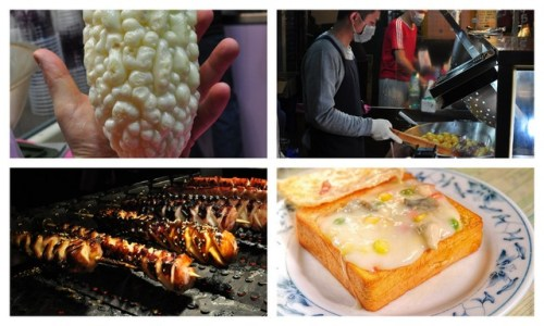 The four stages of life as experienced through Taiwan food