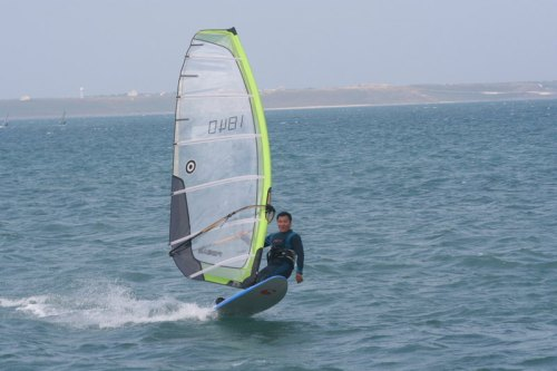 Windsurfing competition in Penghu, Taiwan