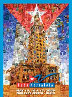 El bello affiche de CUBANOSTALGIA 2009