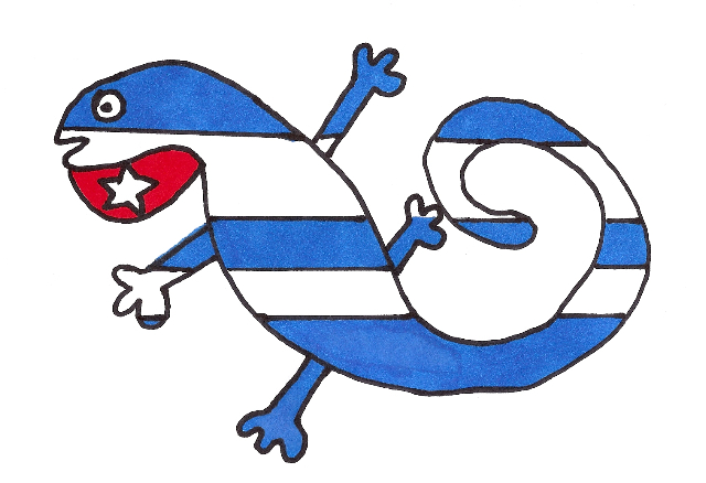 La Cubajtija que será bandera de ABRACALIBRO, el sitio web de José Antonio Gutiérrez Caballero.