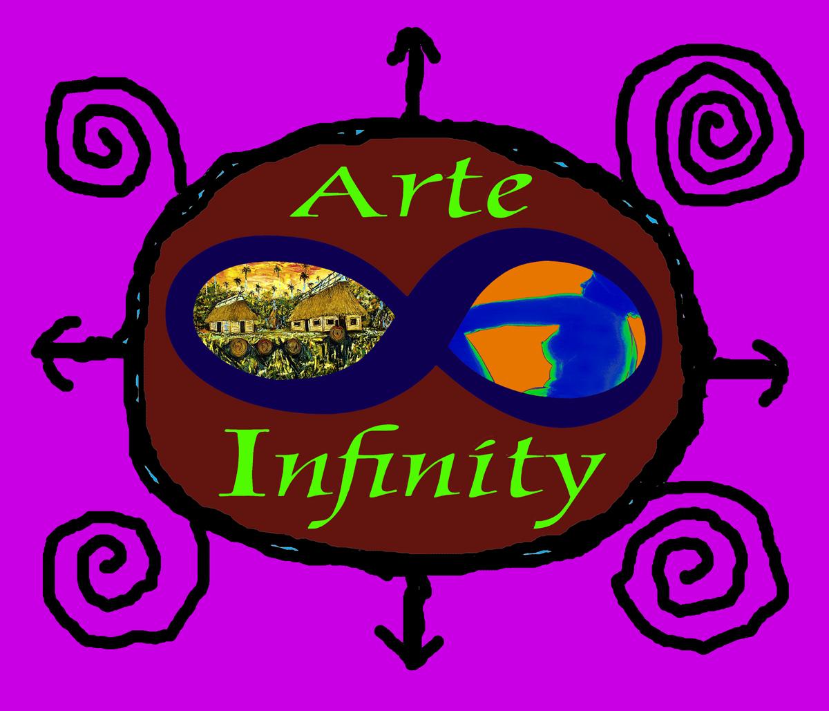 LOGO de la Galería de Arte Infinity, realizado por Ignacio Pérez Vázquez.