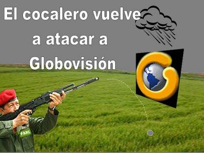 EL TIRO LE SALIÓ POR LA CULATA, CON GLOBOVISIÓN...