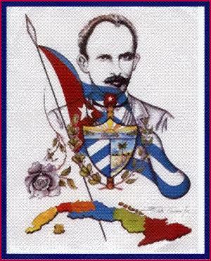 Los símbolos de Cuba en José Martí.