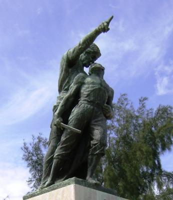 Monumento a Mariana, de 23 y C, en El Vedado.