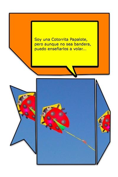 El Pacotorra o Papagayo celador, es una de las miniaturas papaloteras más bellas del sector.