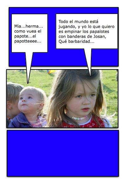 Los niños son la esperanza de los Papalotes Banderas, y viceversa...