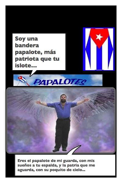 El Papángel Bandera de Josán Caballero.