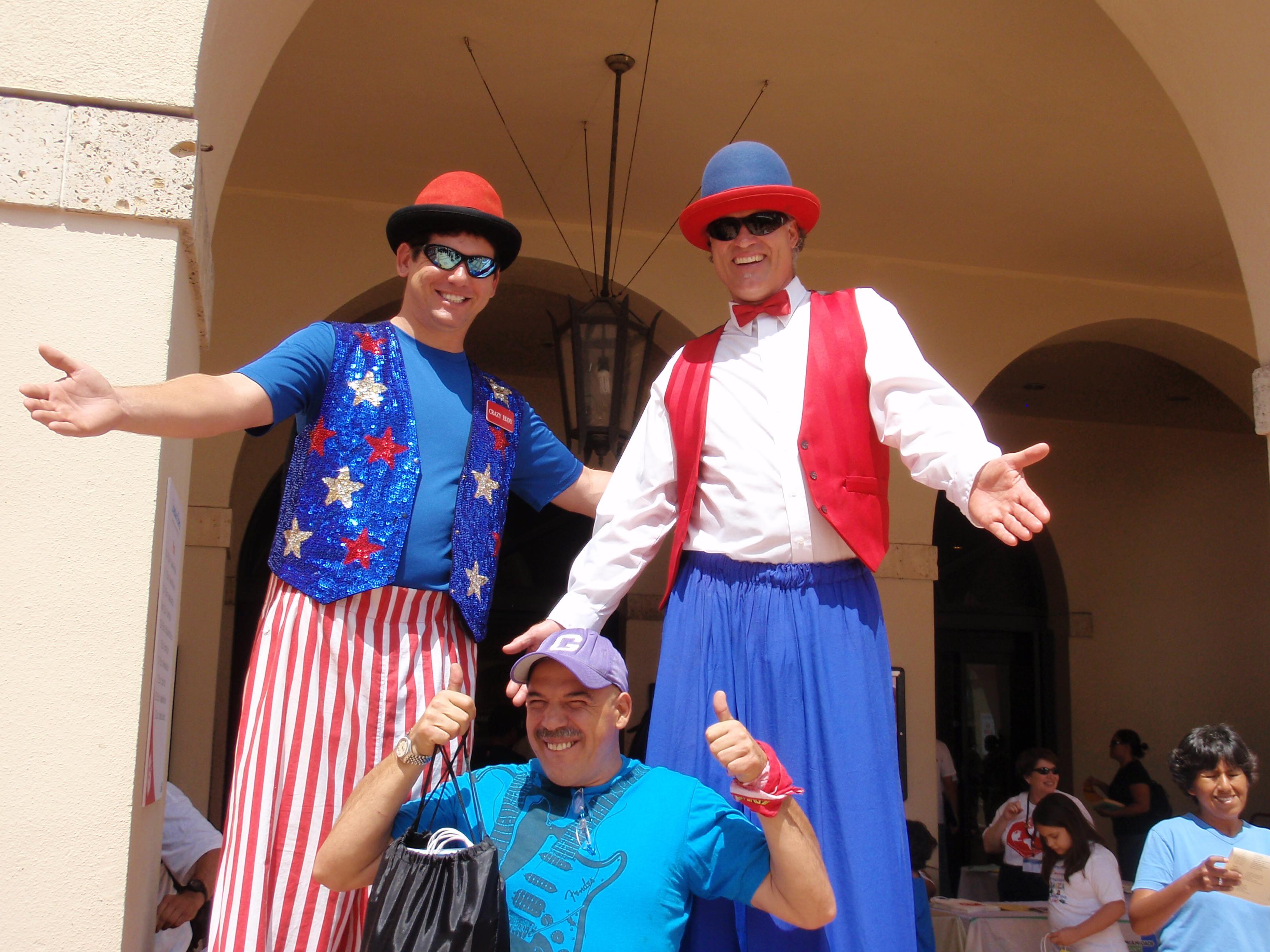También era visitado por los Duendes Zanqueros, y Piero, el de las Historietas...
