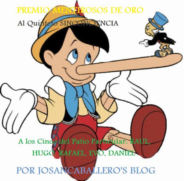 Premio Mentirosos de Oro SINCONCIENCIA