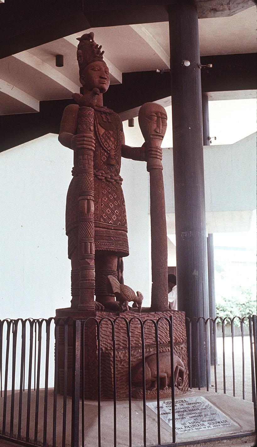 Odúduwa, la diosa madre de los Owoni...