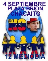 EN LAS PLAZAS DEL MUNDO Y VENEZUELA, NO MÁS CHÁVEZ...