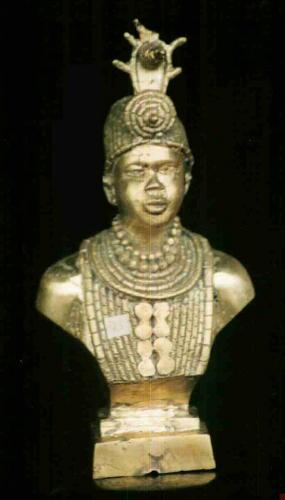 Imagen owoni en bronce...