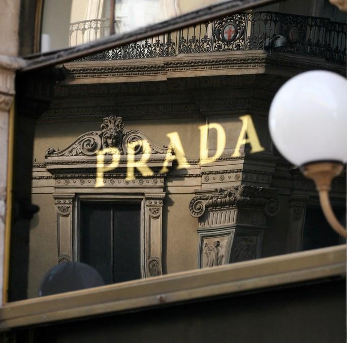 The lawyer wears Prada