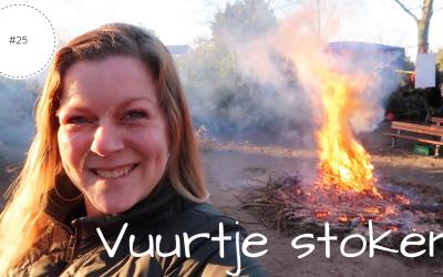 Vuurtje stoken | Vlog #25