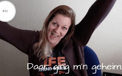 Daar ging m'n geheim | Vlog #32
