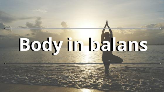 Body in balans