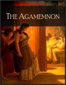 Analyse the theme of hereditary guilt in the play Agamemnon