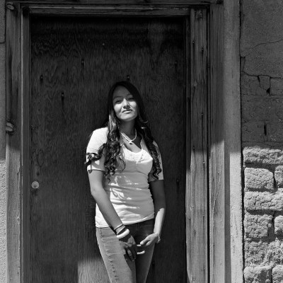 22-Katerine Abayta, Tul Pup (Sunflower New Moon), Taos Pueblo, NM, 2007