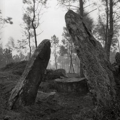 Dolmen Pedra Cuberta, Treos, Vimianzo, A Coruña, 1992