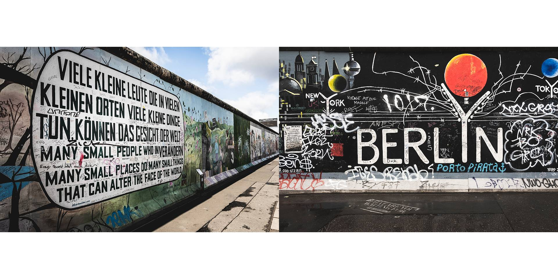 Live your Life - Descubre Berlín - East Side Gallery