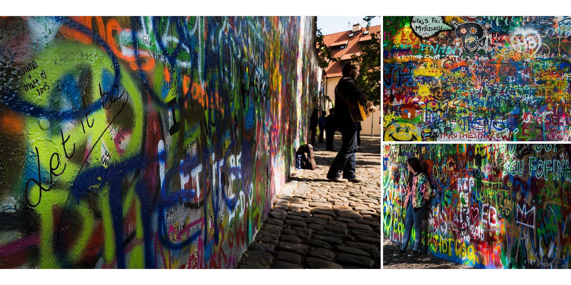 Live your Life - descubre Praga - Lennonova zeď