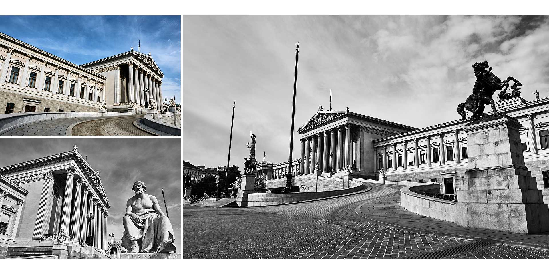 Live your Life - Descubre Viena - Ringstrasse - Parlamento de Viena