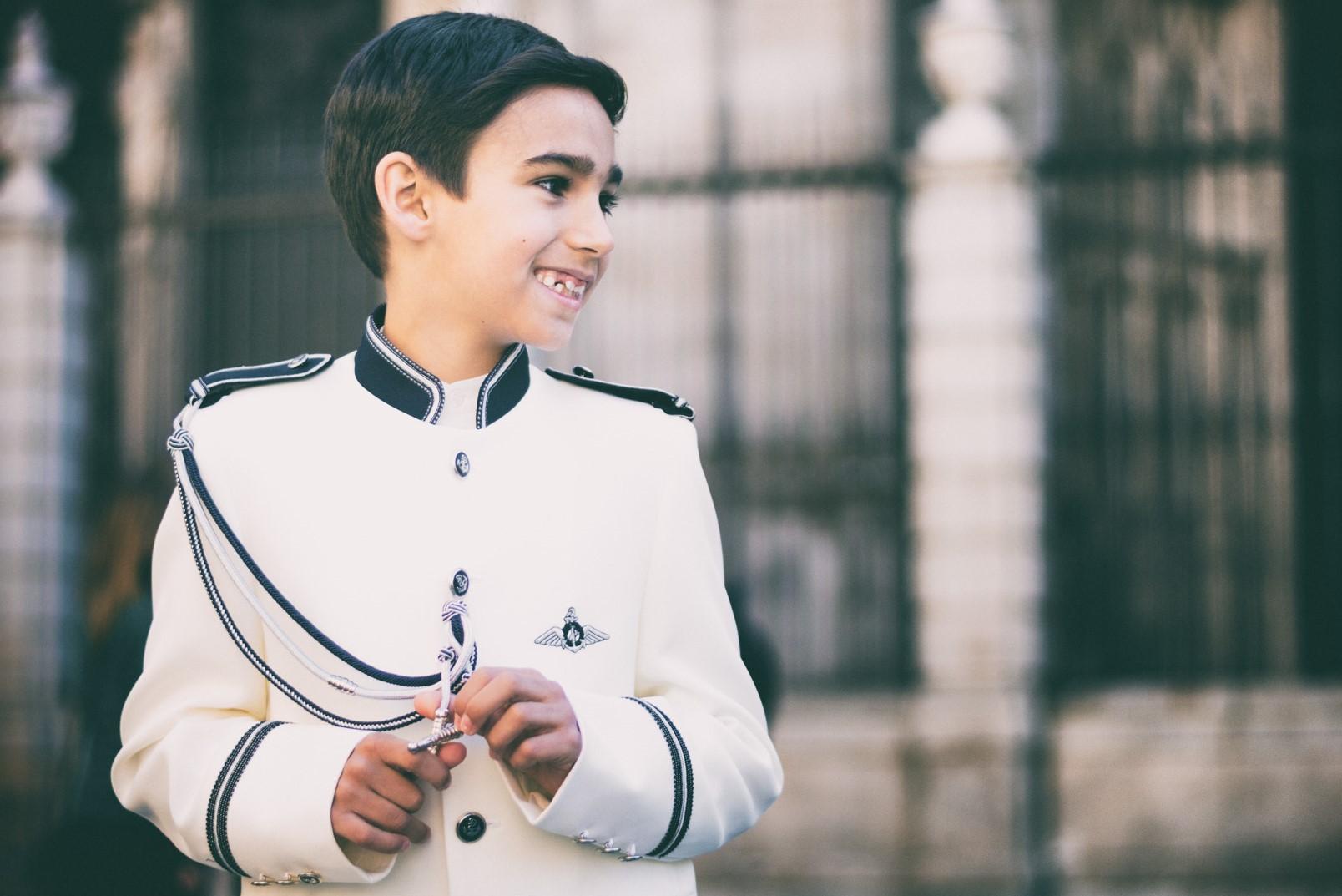 Fotografía de Primera Comunión en Toledo. Óscar