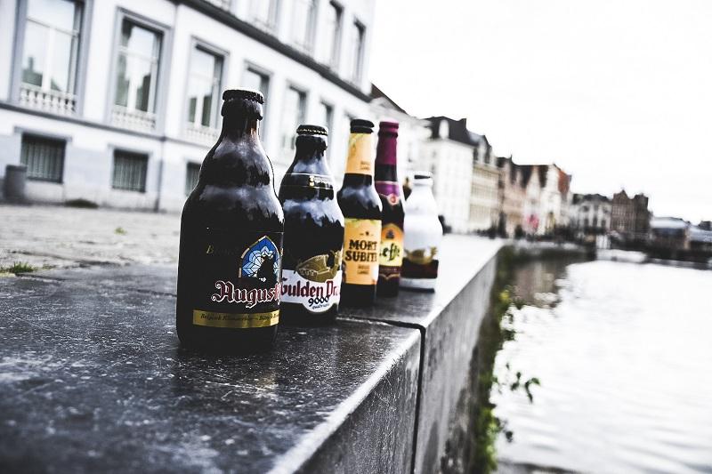 Día libre con cerveza en Gante