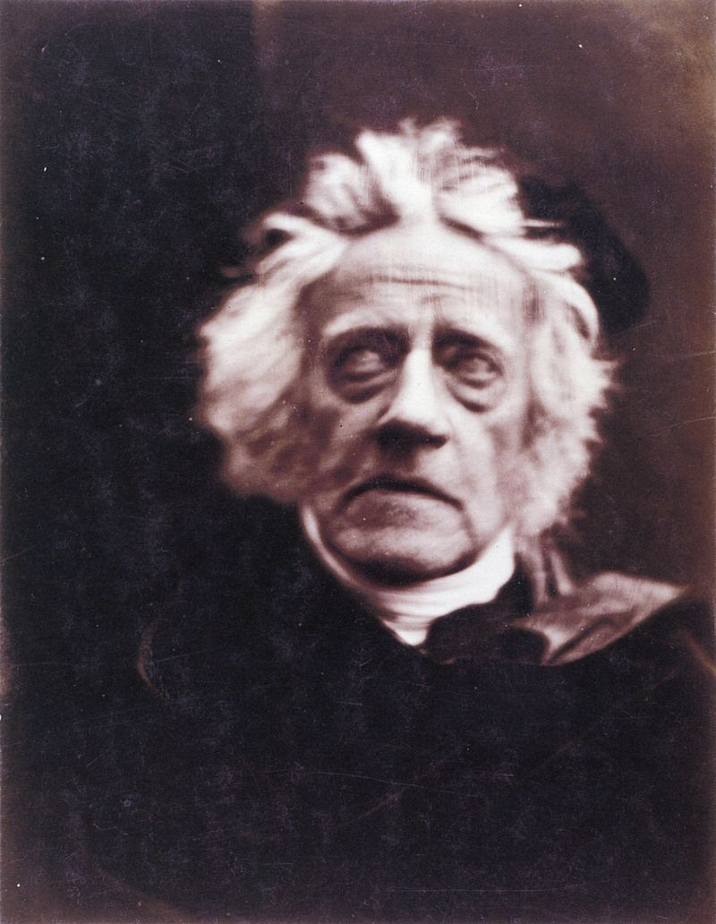 Sir John Herschel. Por Julia Margaret Cameron